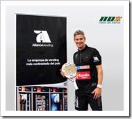 Allliance Vending nuevo esponsor de Miguel Lamperti, acuerdo con JJ Ballvé Sports S.L. firma contrato