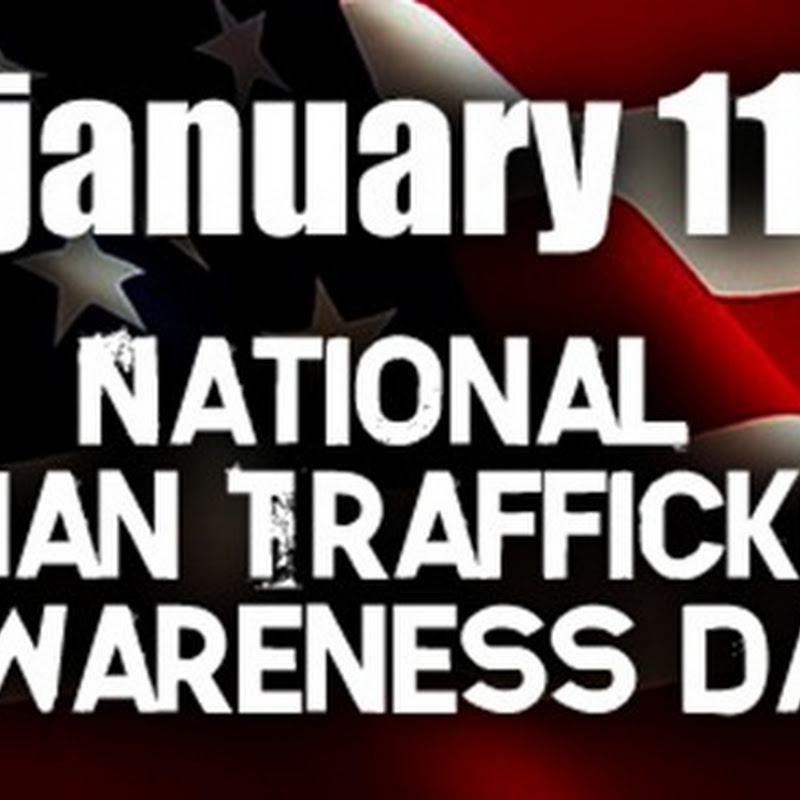 National Global Human Trafficking Awareness Day