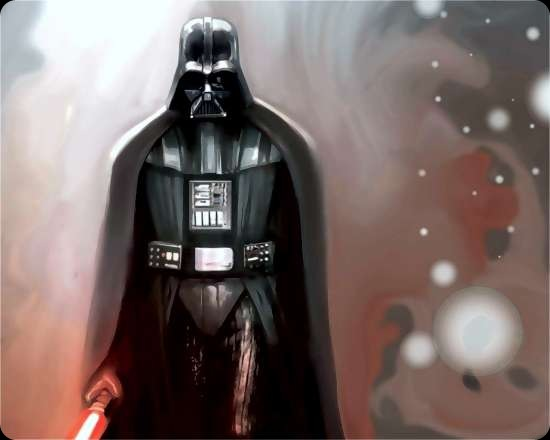 cool star wars photos darth vader painting