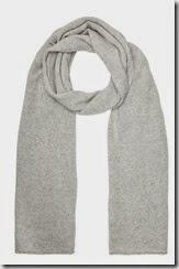 Silver Grey Cashmere Wrap Scarf