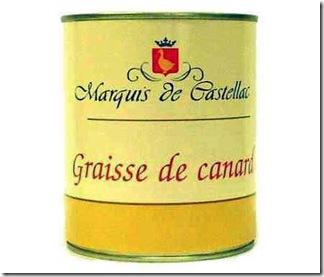 Enlatado - Gordura de pato - França