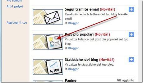 post più popolari blogger