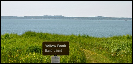 2 - Yellow Bank on the Liberty Beach Drive