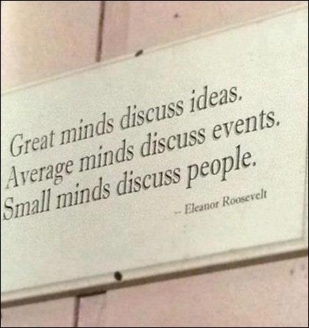 discutir ideias