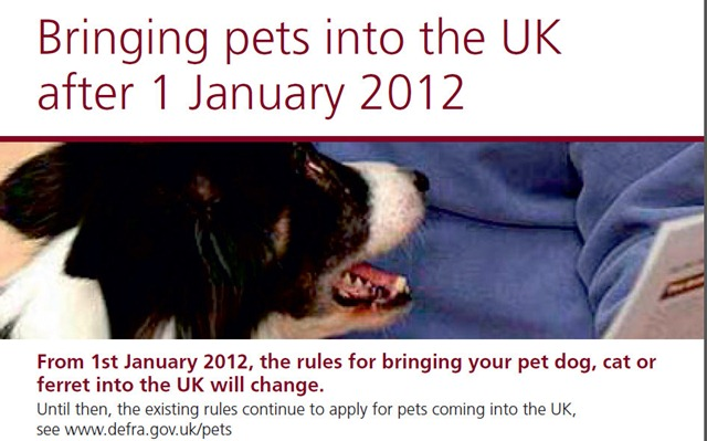 DEFRA UK Pets 2012
