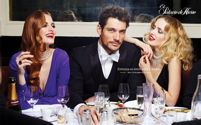 David Gandy by Benoit Peverelli for El Palacio de Hierro, 2011