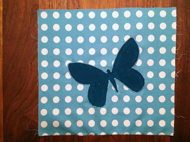June Block Butterfly