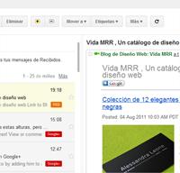 Habilitar el 3° panel o vista previa en Gmail