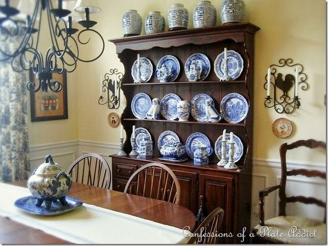 CONFESSIONS OF A PLATE ADDICT Shelves...Country French Style