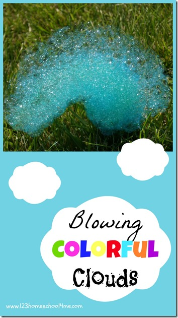 This is such a fun summer activities for kids! Unlike conventional bubbles, these make long clouds or snakes of bubbles in any color you can imagine. SO MUCH FUN! Must add to summer bucket list.