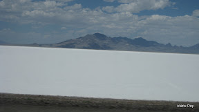 The Great Salt Lake in Utah
