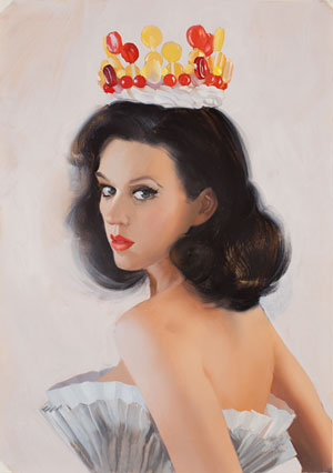 This painting of Katy Perry by Will Cotton got us thinking, too.