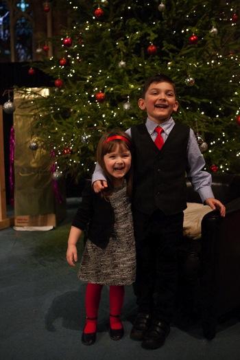 Jayce n Hannah Christmas 1