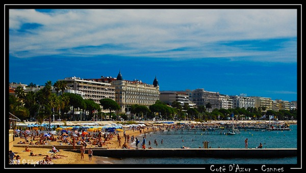 شواطئ كان فرنسا