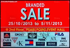 Pearl Point Branded Fashion Warehouse Sale 2013 Malaysia Deals Offer Shopping EverydayOnSales