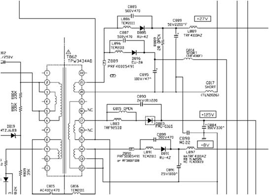 """Menjumpai mikrokontrol yang tidak mau kerja Toshiba 29"""" mati stand-by"""