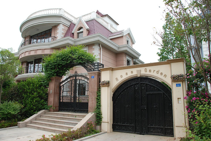 Qingdao jolies maisons