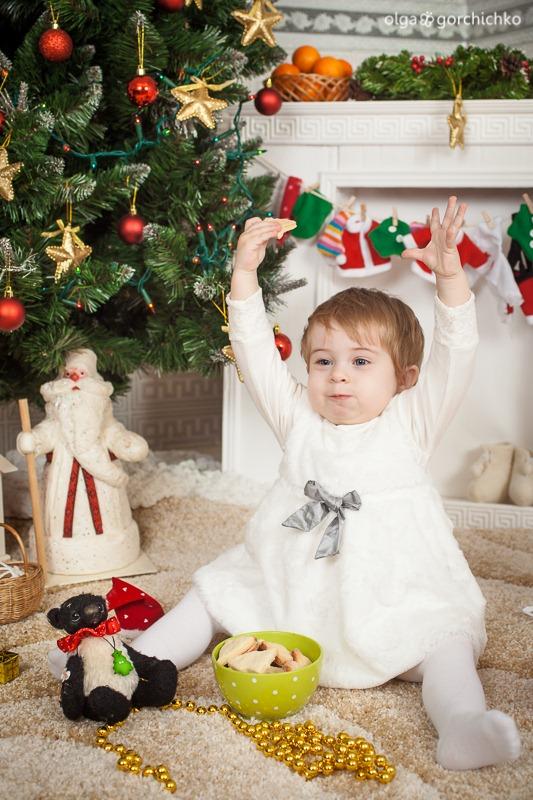 Детский новогодний фотопроект Рождественские мечты. 5. Настенька-8321