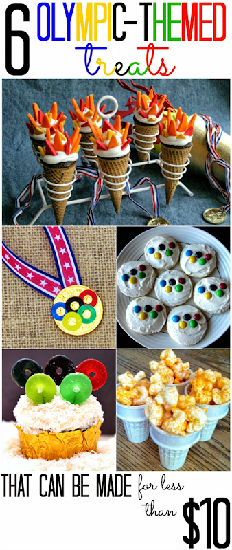 6 Olympic Themed Treats (that you can make for less than $10!)