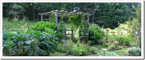 Pamela Page Potager Garden - photo by Mary Jasch