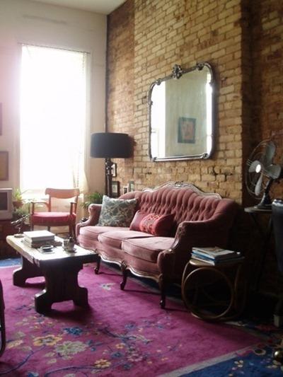 Tegelvägg, Apartment Therapy 1