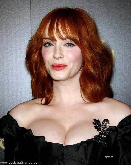 Christina Hendricks linda sensual sexy sedutora decote peito desbaratinando (73)