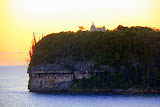 The Church of Lourdes on the Cliffs of Easo at Sunset - Lifou, New Caledonia