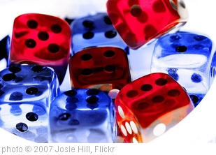 'Roll the Dice... I dare you!' photo (c) 2007, Josie Hill - license: http://creativecommons.org/licenses/by-nd/2.0/