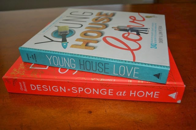 Book Covers - Young House Love and Design Sponge at Home