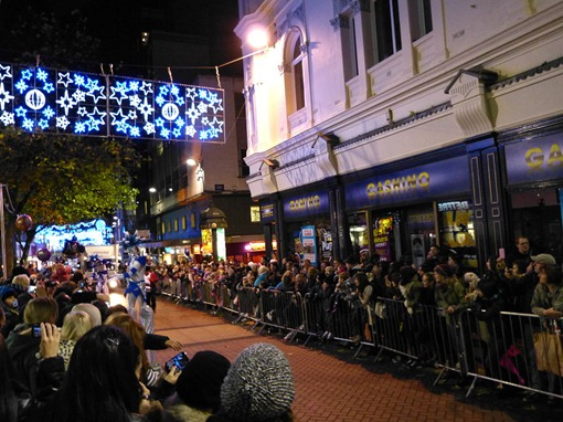 Christmas 2012 in Birmingham