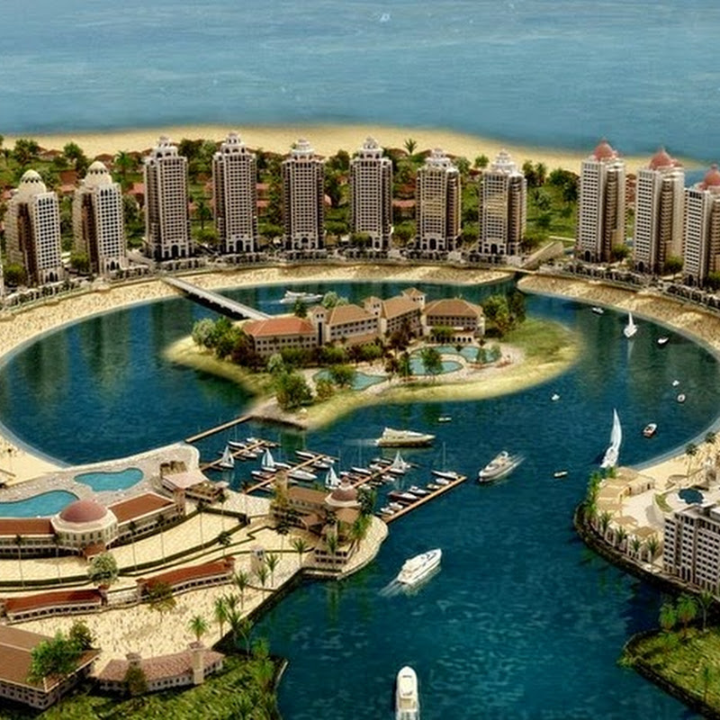 Pearl-Qatar, A Luxurious Artificial Island