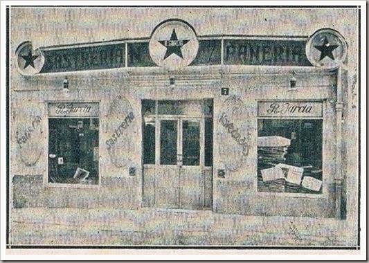 Pañería en la calle de Adressadors, 7 CA 1915