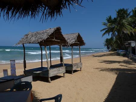 Litoral Sri Lanka: plaja Hikkaduwa