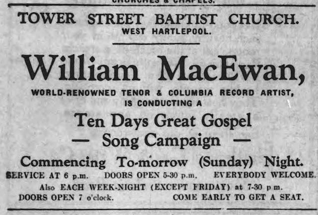 William MacEwan 13 02 1932 Hartlepool