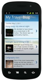 Blogger Mobile Version