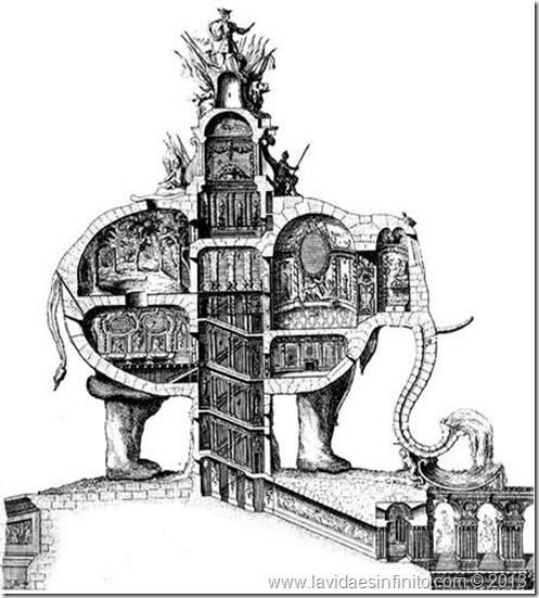 L'elephant triomphal