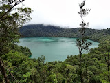 Laut Tinggal lake and its highest point Gunung Malintang in the background (Mykhailo Pavliuk, April 2013)