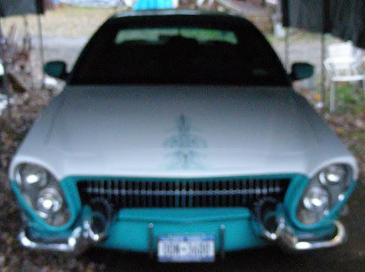 a '55 Cadillac bumper set,