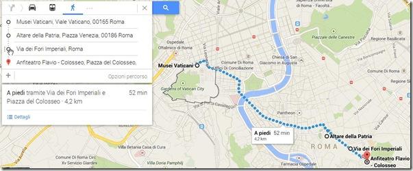 Nuovo Google Maps indicazioni stradali multiple