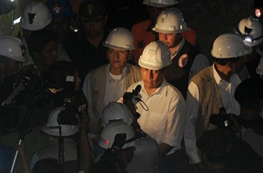 Trapped Peruvian miners rescued
