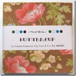 Buttercup - Charm Pack