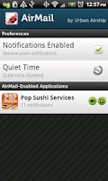 Screenshot of Pop Sushi Net Services Beta