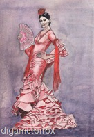 flamenco in pink 2