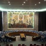 the united nations security council in New York City, New York, United States