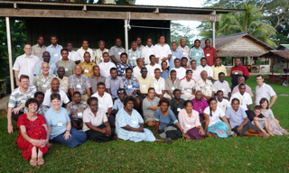 Attendees at Langham Preaching Solomons