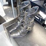 japanese boots at shibuya 109-2 in Narita, Tokyo, Japan