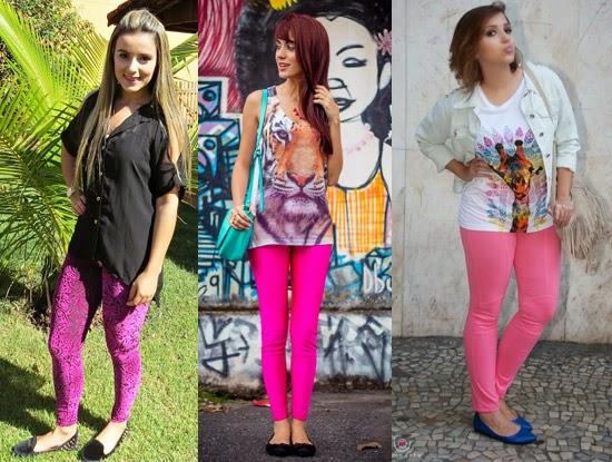 Como usar legging rosa com sapatilha