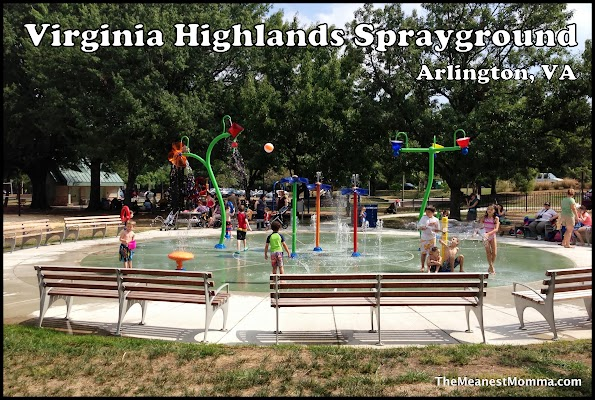 Virginia Highlands Sprayground (Arlington, 22202)