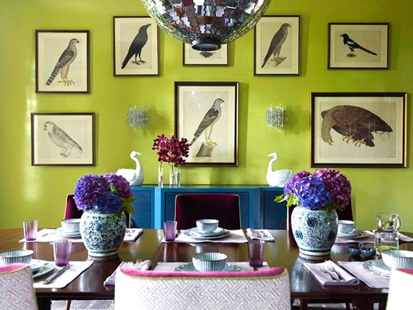 Chartreuse comedor