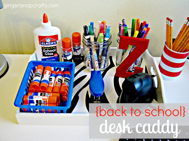 desk caddy tutorial #momsguide